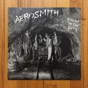Aerosmith Night in the Ruts Vinyl Record